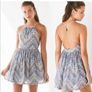 Urban Outfitters Dresses - Urban Outfitters Ecote Bonita High-Neck Mini Dress